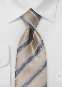 Krawatte Streifendessin nachtblau rot