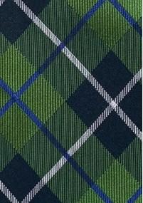 Businesskrawatte Streifendesign Rot