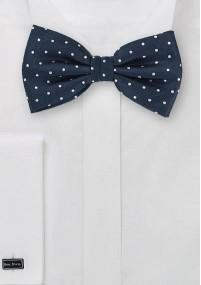 Klassische Regiments-Krawatte in Dunkelblau