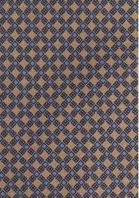 Krawatte braun einfarbig gestreift