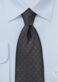 Krawatte Wolle jagdgrün