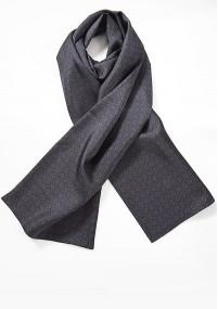 Krawatte Streifen-Pattern hellblau