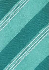 Krawatte Viereck-Dekor mint