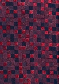 Krawatte schmal Streifendesign orange