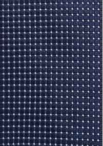 Klassische Regiments-Krawatte in Navy