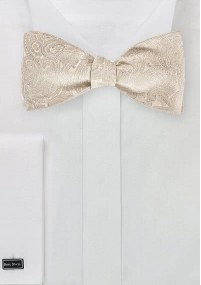 Krawatte blassgrün Rankenmuster