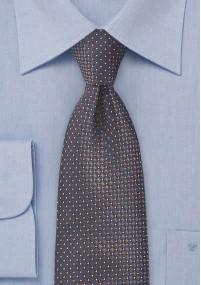 Krawatte zarte Pünktchen edelgrün