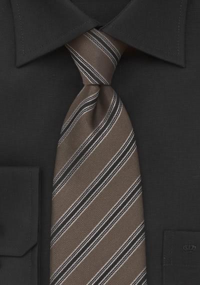 Krawatte Wolle nachtblau