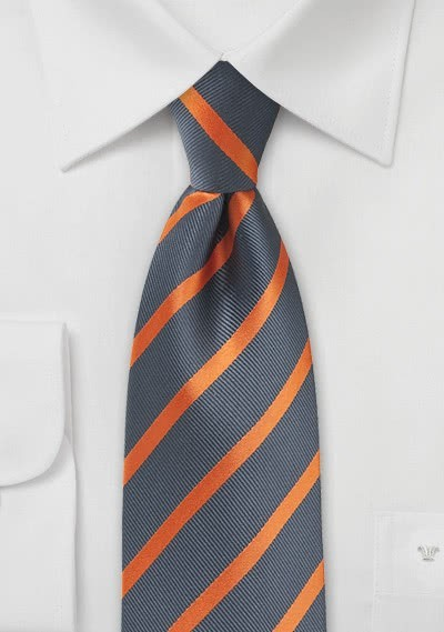 Krawatte Blätter ecru