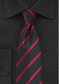 Krawatte breite Streifen dunkelblau weinrot