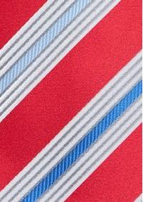 Krawatte grob gepunktet kupfer perlweiß