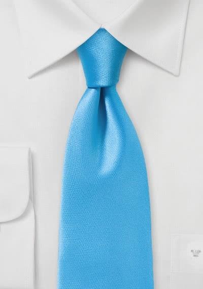 Krawatte Streifen himmelblau