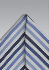 Herrenkrawatte Wolle Glencheckdesign hellblau