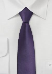 Krawatte Clip  Streifendessin dark black...