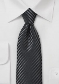 Herren Krawatte türkis Streifen