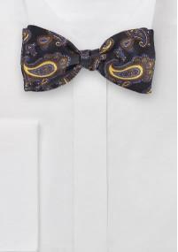 Krawatte  Kreidestreifen  tiefschwarz