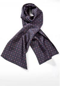 Krawatte Baumwolle Streifendesign hellgrün