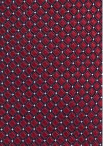 Krawattenschal exotisches Paisley rot