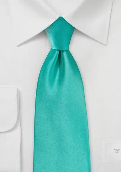 Apricotfarbene Krawatte in Satin-Optik