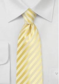 Krawatte Streifen navy Wolle