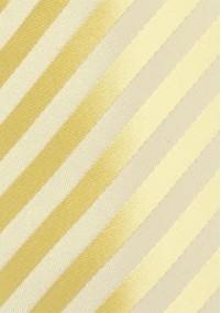 Krawatte monochrom beige
