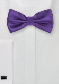 Krawatte Kinder unifarben navy