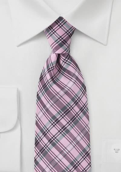 XXL-Krawatte blau gelb gestreift
