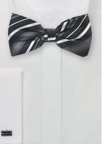 Silber weiße Krawatte