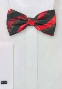 Krawatte Blümchenmotiv rose
