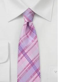 Krawatte Streifenstruktur dunkelblau