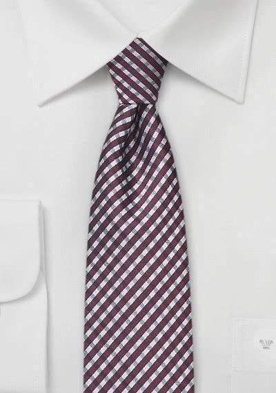 Krawatte weiß Luxury Edition