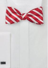 Krawatte gerippte Struktur weinrot