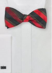 Krawatte einfarbig Kunstfaser brombeer