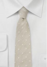 Einfarbige Krawatte flieder