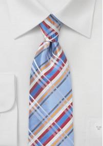 Krawatte italienische Seide perlweiß...