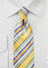 Moulins Krawatte lachsfarben einfarbig