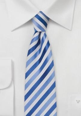 Krawatte silber matt glänzend