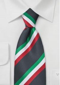 Krawatte Streifenstruktur hellblau