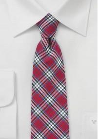 Markante Krawatte im Paisley-Look silber