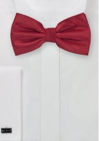 Mikrofaser-Krawatte monochrom Mittelbraun