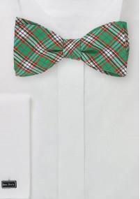 Krawatte mit Wolle hellblau Tupfen