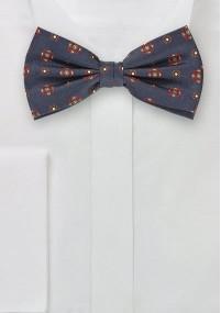 Mikrofaser-Krawatte einfarbig Rostrot