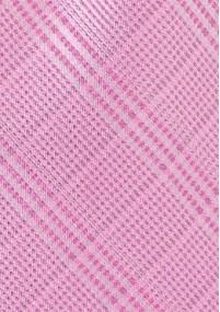 Krawatte unifarben braungrün Linien