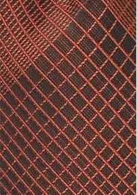 Uni-Krawatte mit Rippsstruktur in Navy