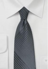 Krawatte Glencheckmuster bordeauxrot mit...