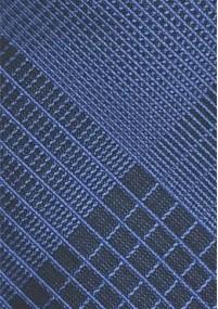 Schwarze Krawatte mit einfarbigen...
