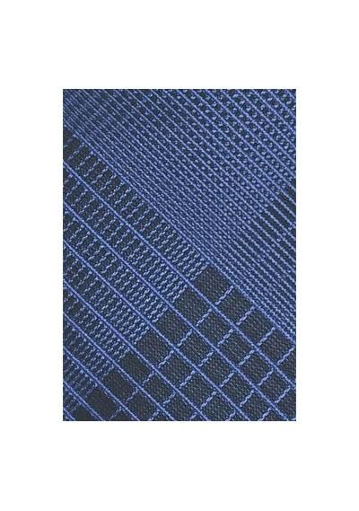Schwarze Krawatte mit einfarbigen Streifendesign