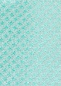 Krawatte Karo-Design schneeweiß blassgrün