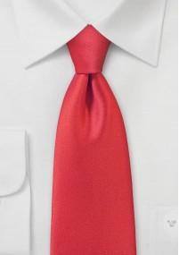 Krawatte einfarbig silbergrau