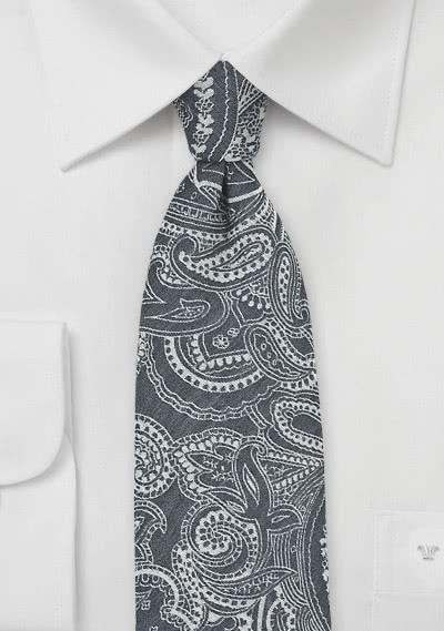 Businesskrawatte rot Linien-Vierecke